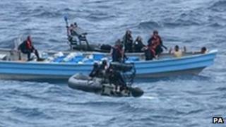 Drug raid at sea