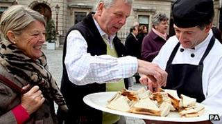 Toast sandwich