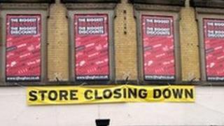 shop closing sign