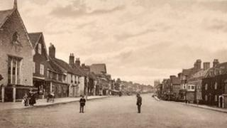 Marlborough historic postcard