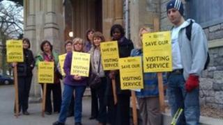 Somerset Sight protest November 2011