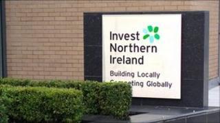 Invest Northern Ireland sign