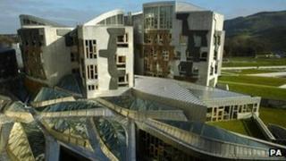 Holyrood building