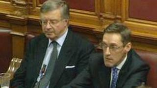 Senator Sir Philip Bailhache and Senator Ian Gorst