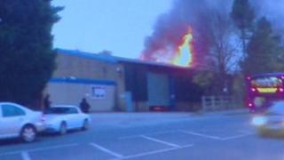 Breaston factory fire