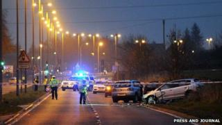 Kingswells fatal [Pic: Press and Journal]