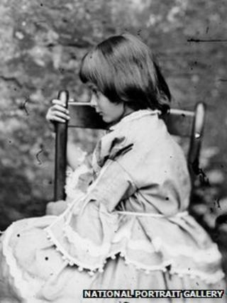 Lewis Carroll took this photo of Alice Liddell in 1858