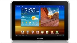 Samsung's Galaxy 10.1N tablet computer