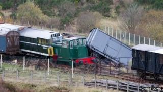Railway collision