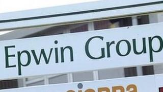 Epwin Group sign