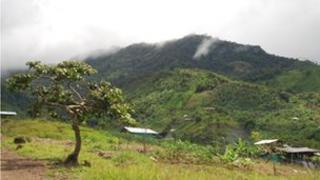 The mountains are the traditional home of the Awa people