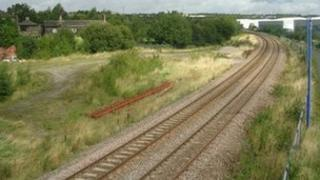 The site of the former Low Moor railway station