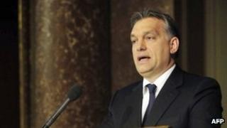 Hungarian Prime Minister Viktor Orban. File photo