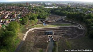 Wigan Flood Alleviation Scheme