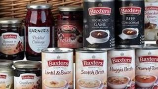 Range of Baxters products