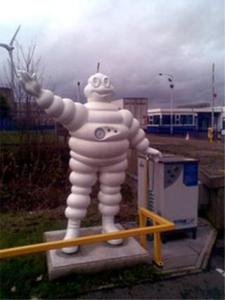 Dundee Michelin plant
