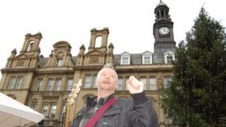 Billy Bragg at Occupy Leeds