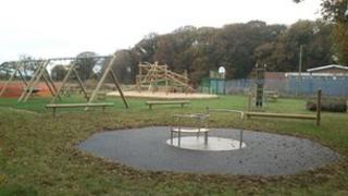 The new play park
