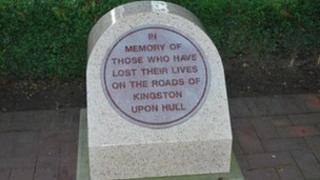 Road memorial