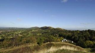 Malvern Hills. Photo: Richard Sowersby / BBC