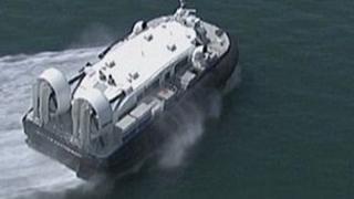 Southsea's hovercraft