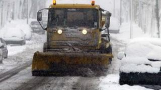Gritting lorry, generic image