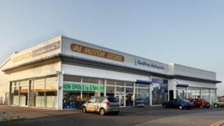 Godfreys Automotive Parts showroom