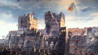 Panorama of the Ottoman conquest of Constantinople