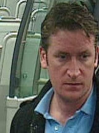 CCTV image released by British Transport Police