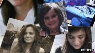 Pictures of Agnes, the murdered French teenager (21 Nov 2011)