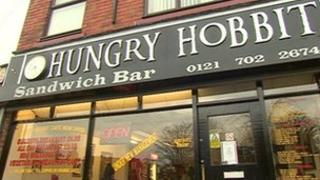 The Hungry Hobbit cafe in Moseley