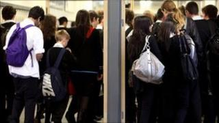 Secondary school pupils in Glasgow