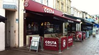 Costa Coffee on Gloucester Road