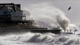 Storm at Selsey Bill