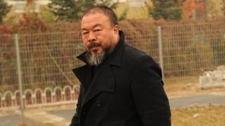 Ai Weiwei, in Beijing on 17 November 2011