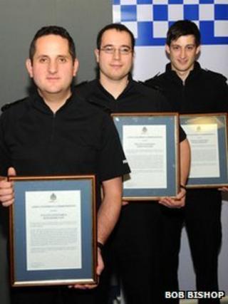 PCs Hamilton, Batard and Morrison