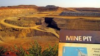 Citic Pacific Mining's Sino Iron magnetite iron ore project in the Pilbara region of Western Australia