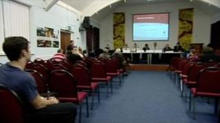 First public consultation meeting in Sheffield
