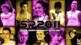 Candidates for this year's Young Sports Personality of the Year.
