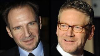 Ralph Fiennes and Kenneth Branagh