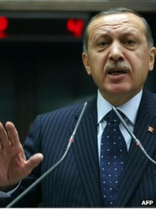 Turkish Prime Minister Recep Tayyip Erdogan (22 Nov 2011)