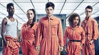 The cast of Misfits