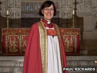 The Reverend Prebendary Lynda Barley Pic: Paul Richards