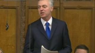 Simon Kirby speaking at PMQs