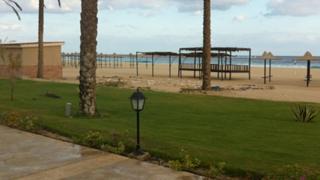 Empty beach in Marsa Matrouh