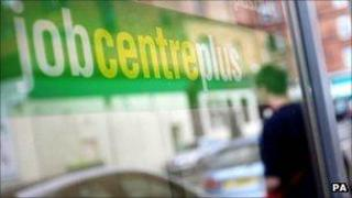 Jobcentreplus sign