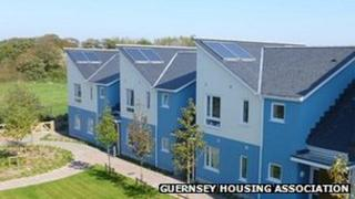 New housing in Guernsey