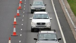 Traffic in roadworks