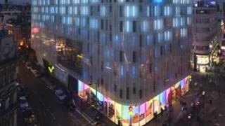 The W Hotel in Leicester Square, one of the properties developed by McAleer and Rushe