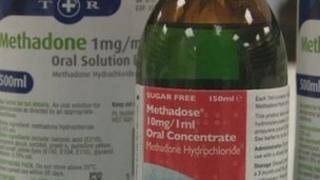 Methadone bottles